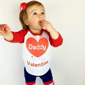 toddler girl valentine day outfit
