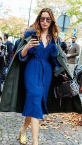 shoes and accessories for royal blue dress