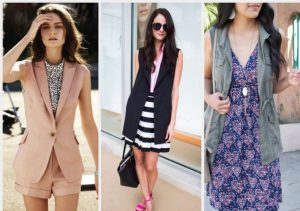 what to pair with sleeveless dress