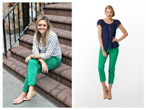Green shirt what pants with color How to